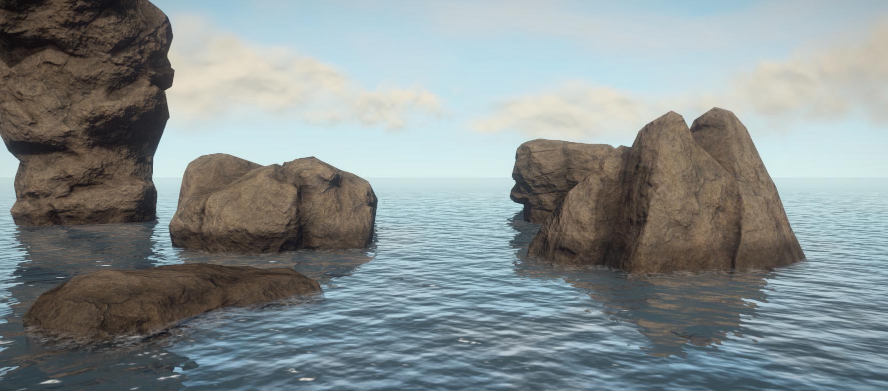 Горы на воде