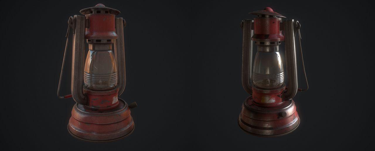 Светильник в Rust