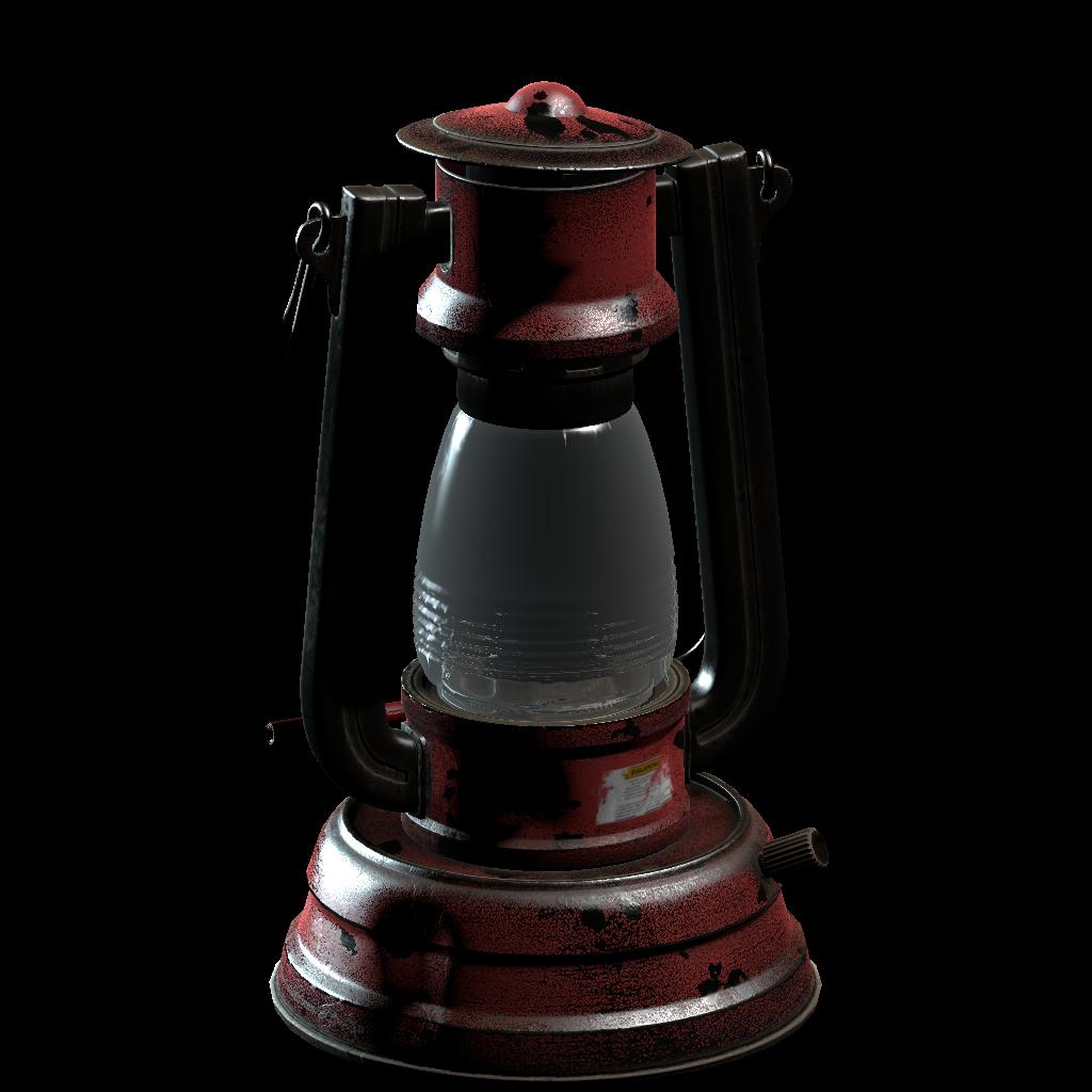 Рендеринг значка лампы