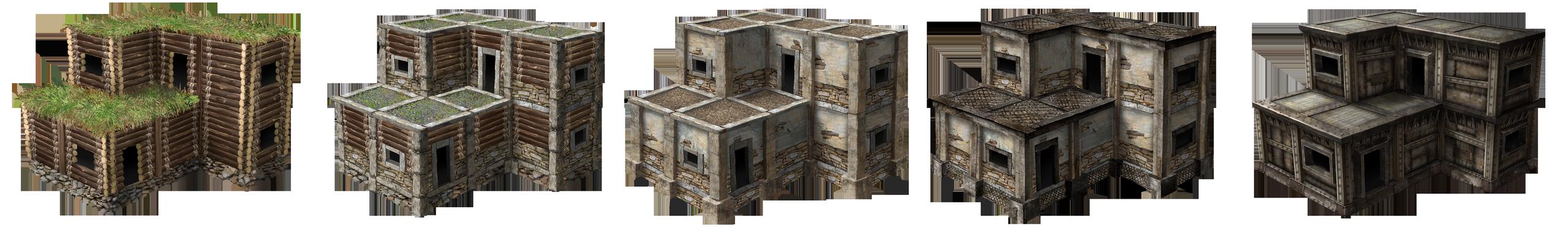 Прогресс зданий 2