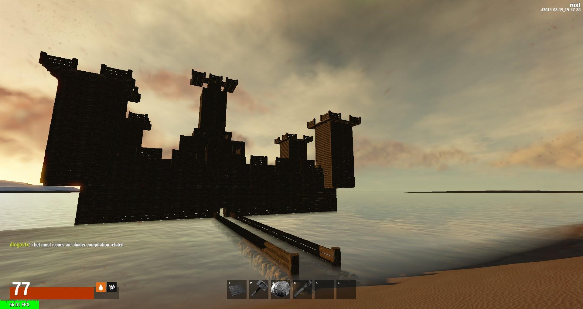 Замок одного человека