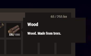 Wood #split