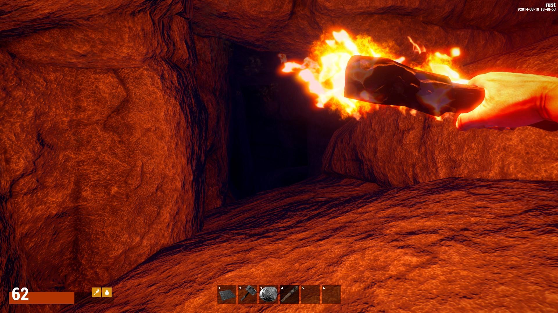 Освещаем себе путь в пещеру