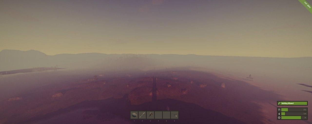Наверху башни Rust Planet