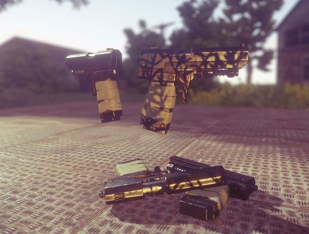 Новый пистолет в игровом мире