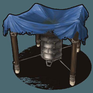 Иконка большого коллектора воды