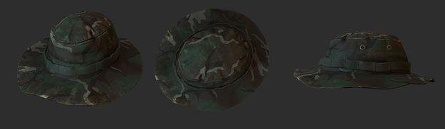 Головной убор - шляпа