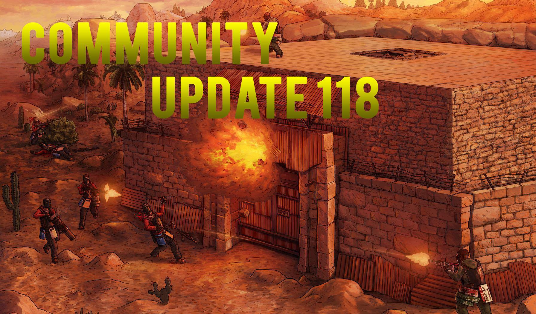 Community Update 118