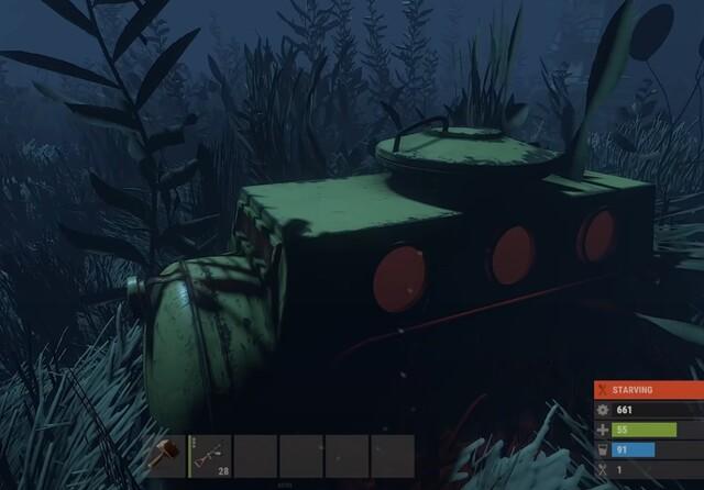 раст подводные лодки