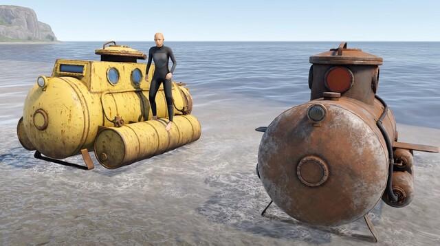 подводные лодки rust