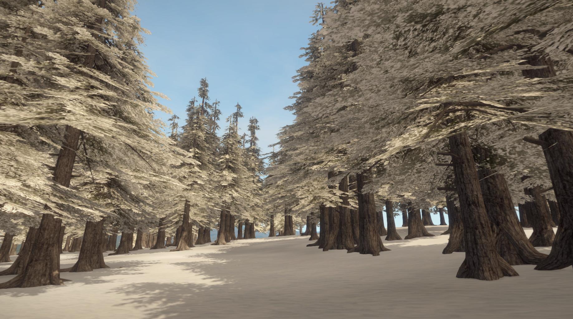 Зима в игре Rust