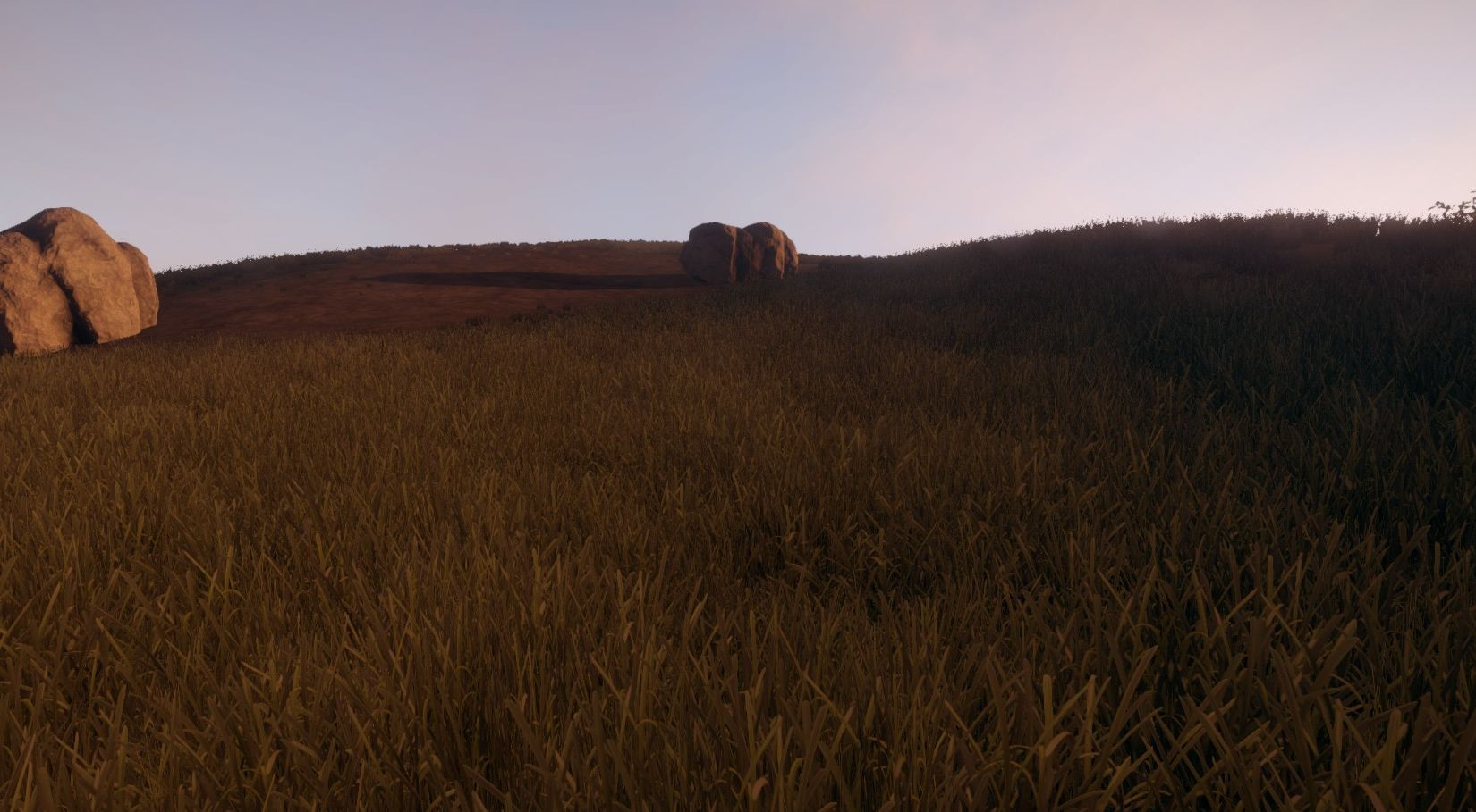 Новая трава в игре Rust