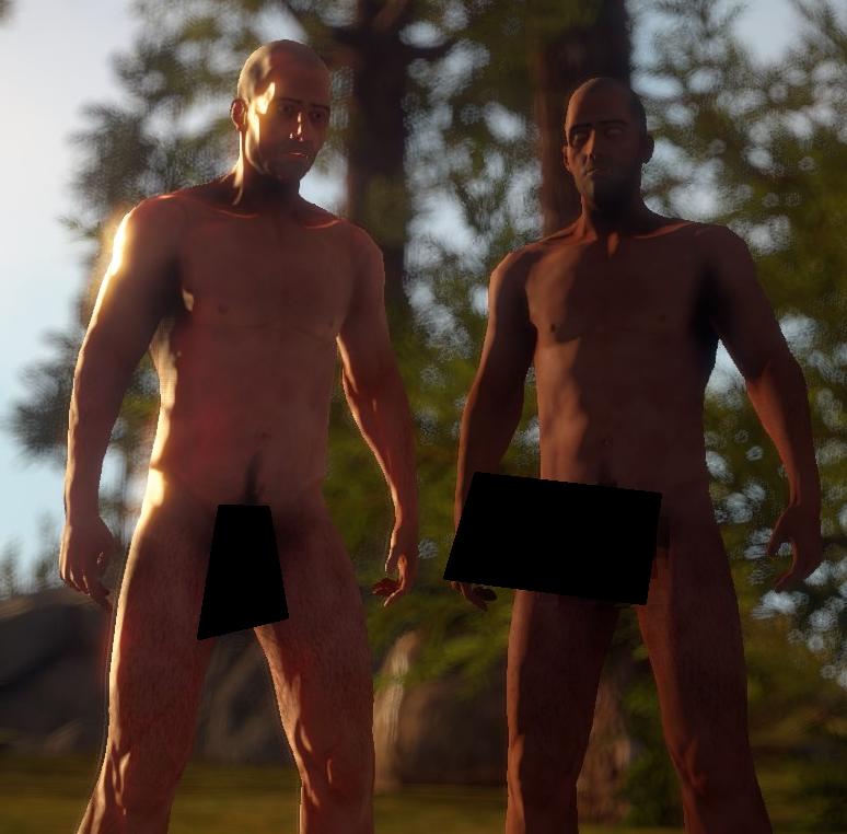 Новая шейдерная модель игрока
