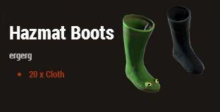 Антирадиационные ботинки (Hazmat Boots)