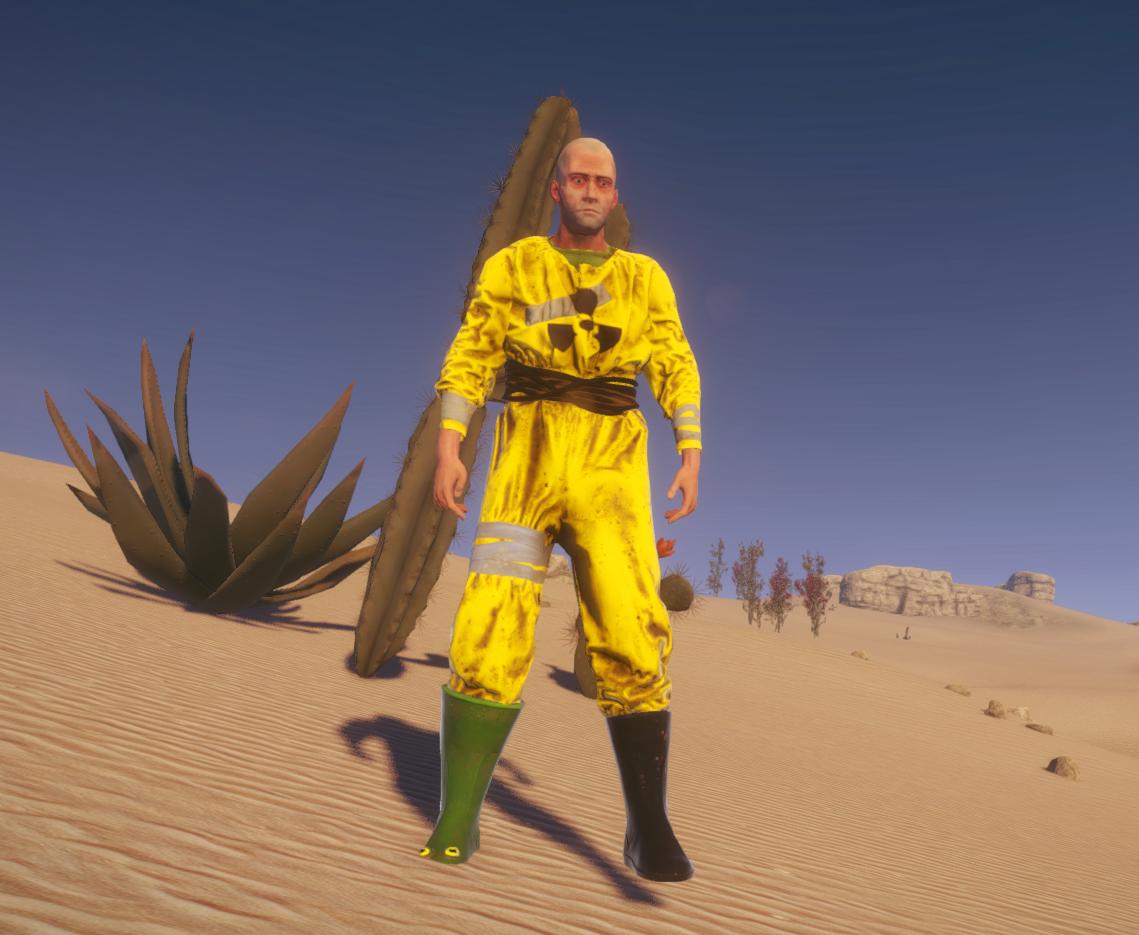 Антирадиационный костюм 2