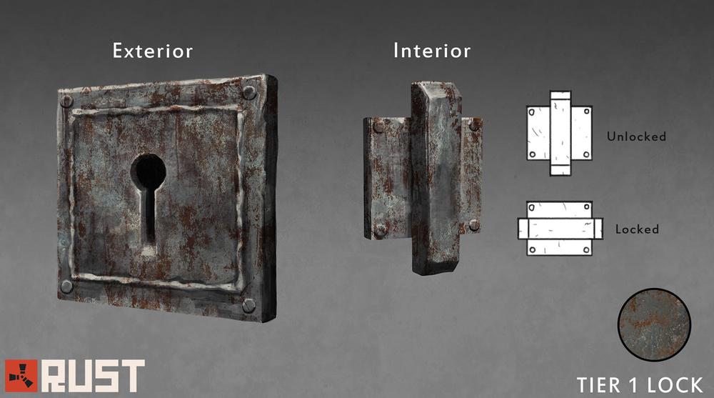 Концепт дверного замка