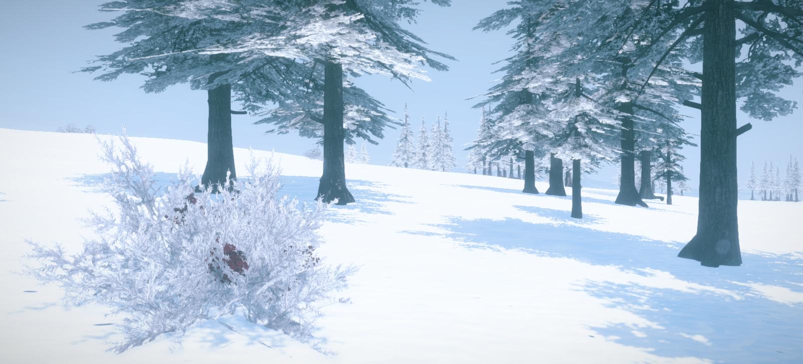 Зима в Rust!