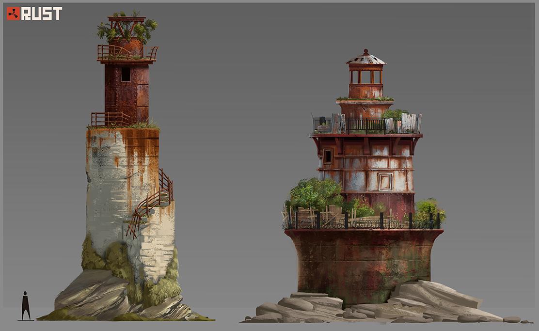 Первая пара маяков