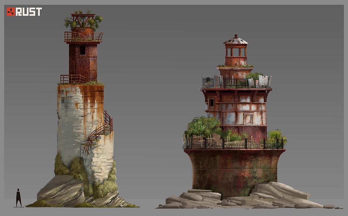 Заброшенный маяк