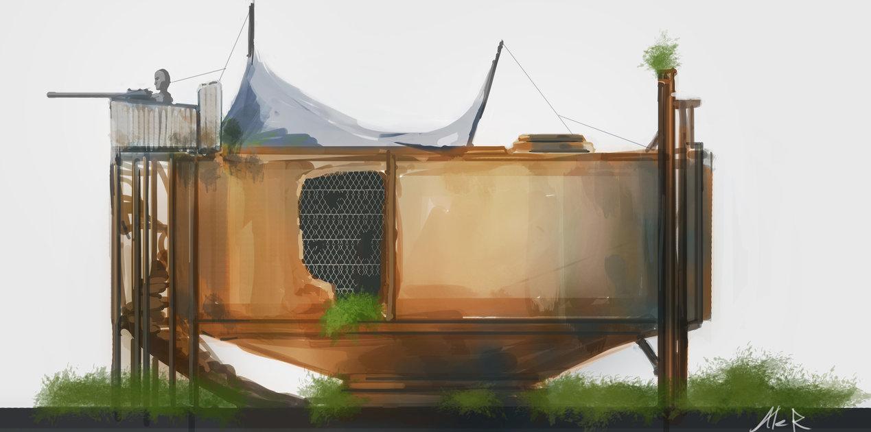 Концепт жилища от Aleltg