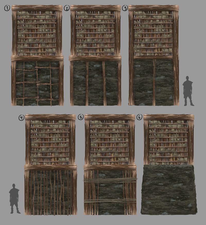 Стены и фундаменты №1
