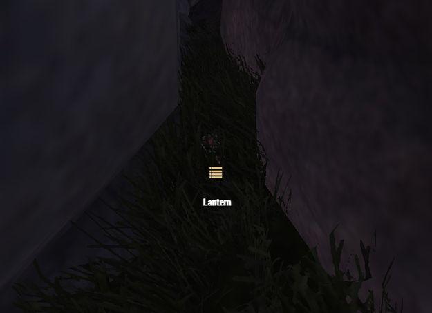 Прячем лампу в укромном месте