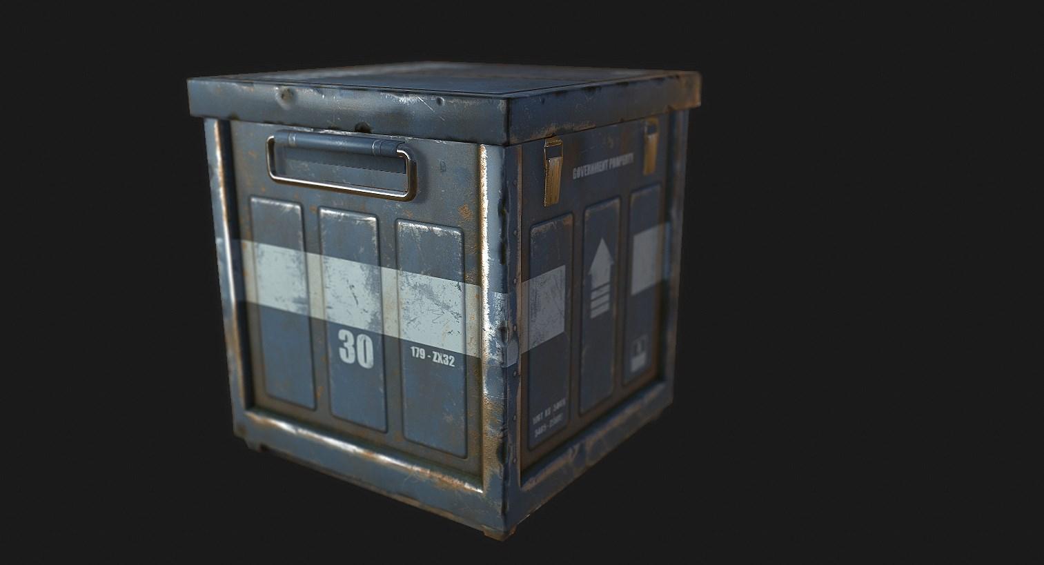 Модель лут-контейнера