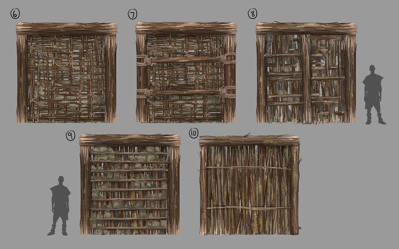 Стены и фундаменты №3