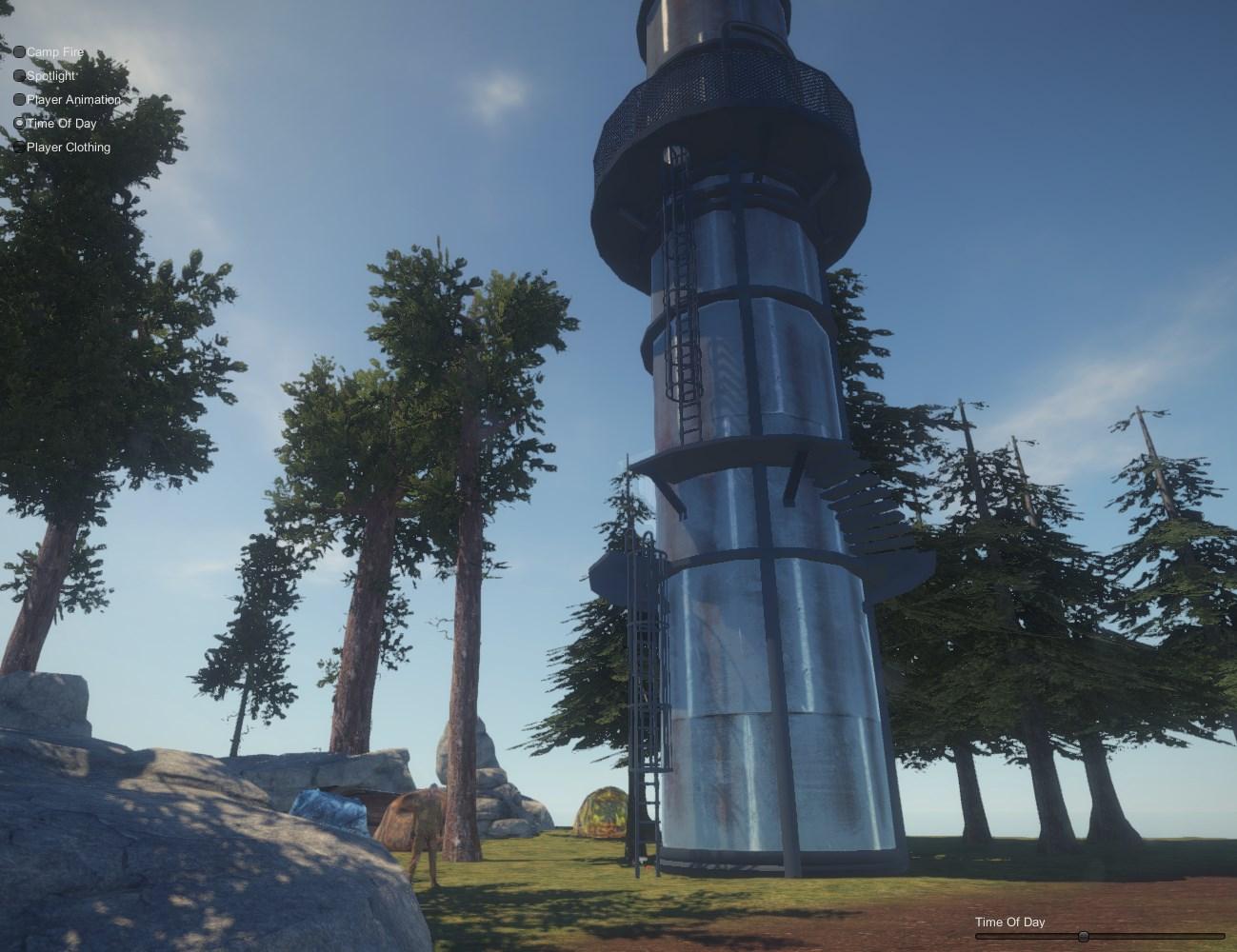 Проба маяка в игре