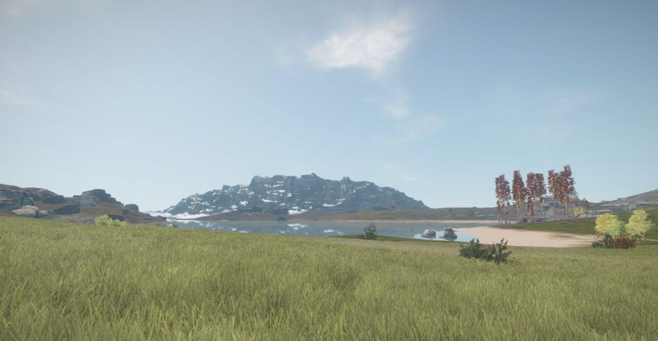Колоритная гора, обычно такая одна