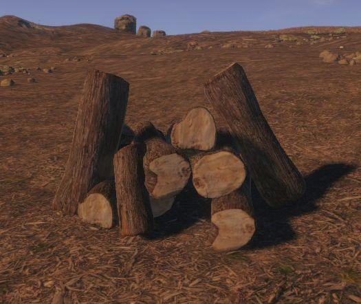 Брёвна (Wood Pile)