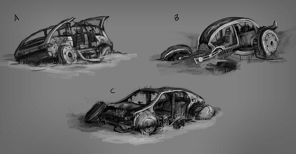 Кладбище авто
