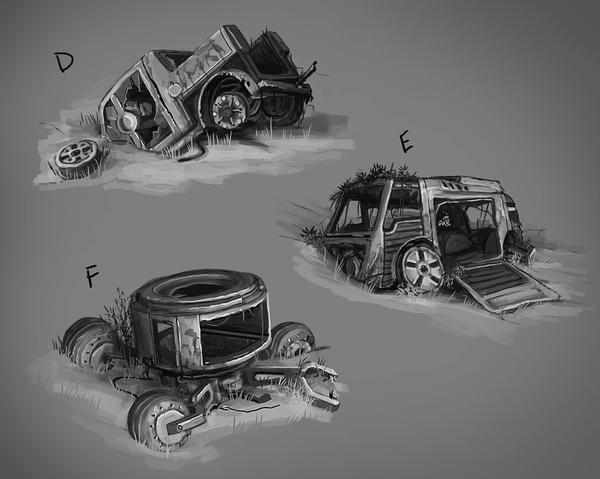 Свалка авто