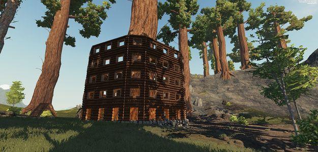 Дом вокруг дерева 1