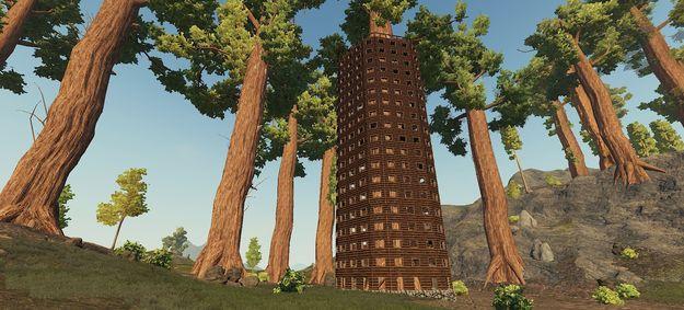 Дом вокруг дерева 2