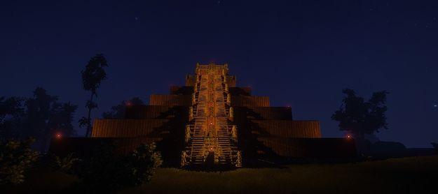 Пирамида Майя 01