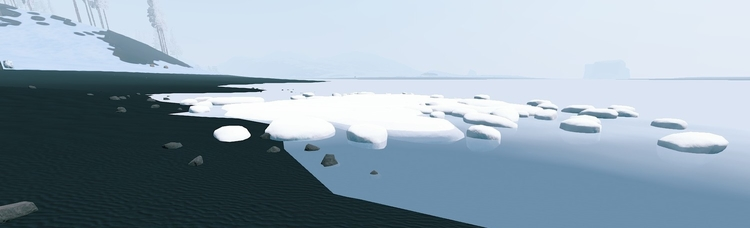 Льдины в Rust