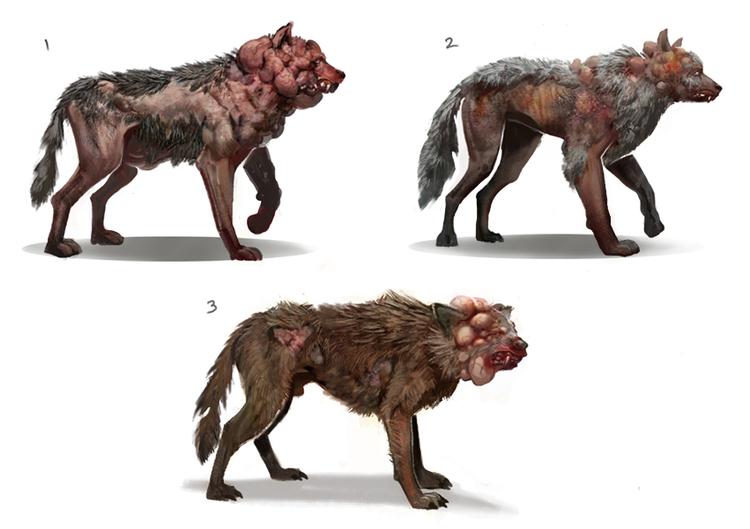 Зараженные волки