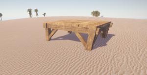 Новый деревянный фундамент