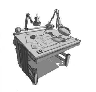 Исследовательский стол