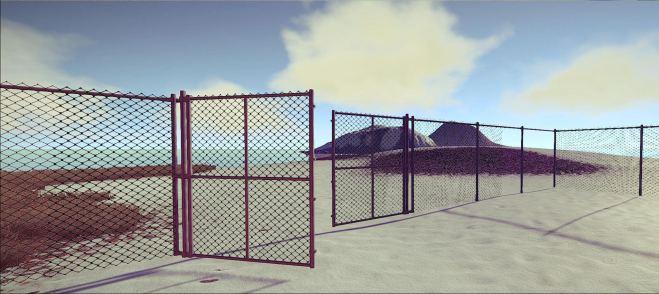 Забор-рабица