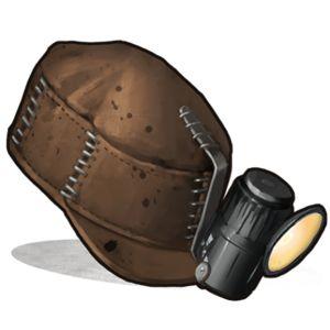 Иконка бейсболки шахтера