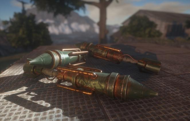 Секретный снаряд для РПГ 1