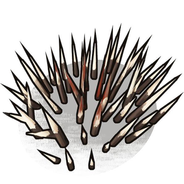 Иконка напольных шипов