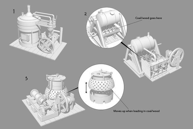 Концепт двигателя