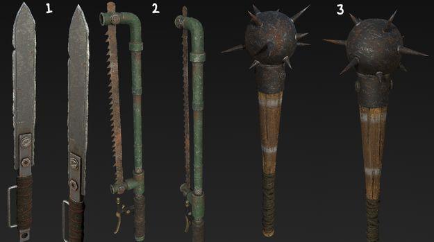 Новое рукопашное оружие