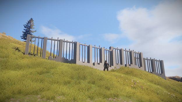 Наружные стены (макет)