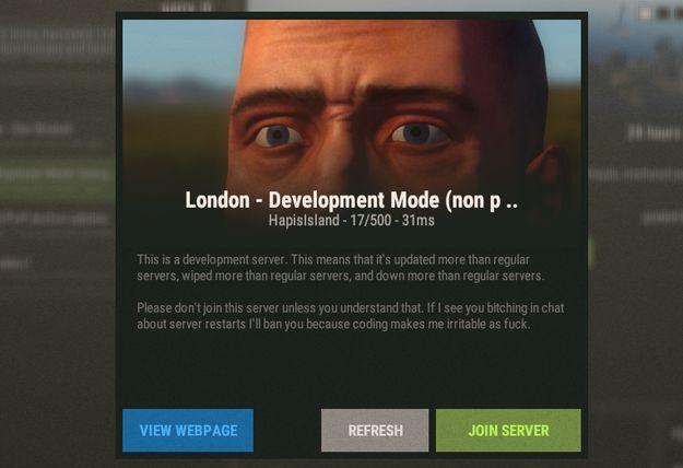Изображение описания сервера