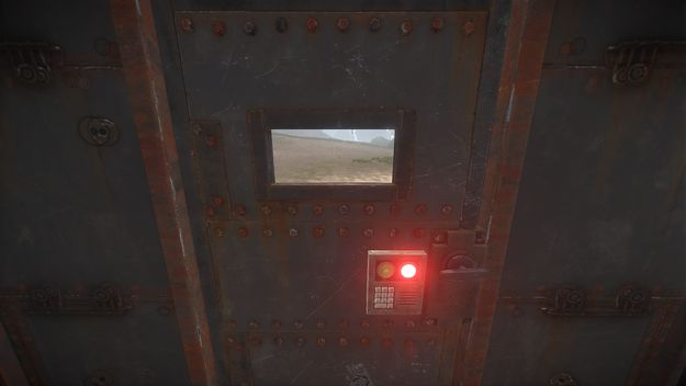 Окно в двери