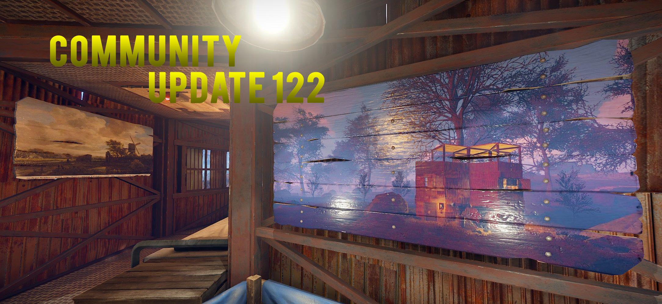 Community Update 122